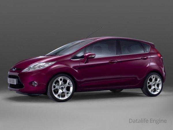В Российской Федерации подорожала модель Форд Fiesta