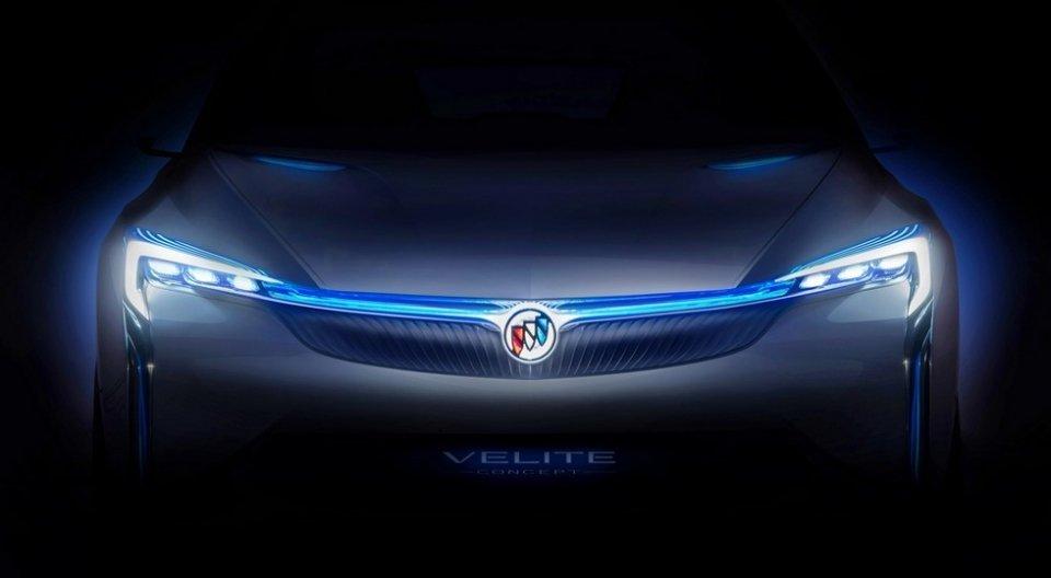 Buick анонсировал новый концептуальный автомобиль Velite