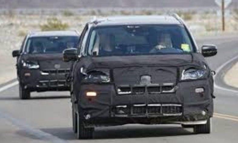 Хонда Pilot впервый раз засветился нашпионских фото