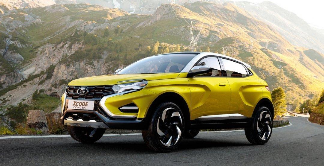 Лада XCODE может получить платформу альянса Renault-Nissan