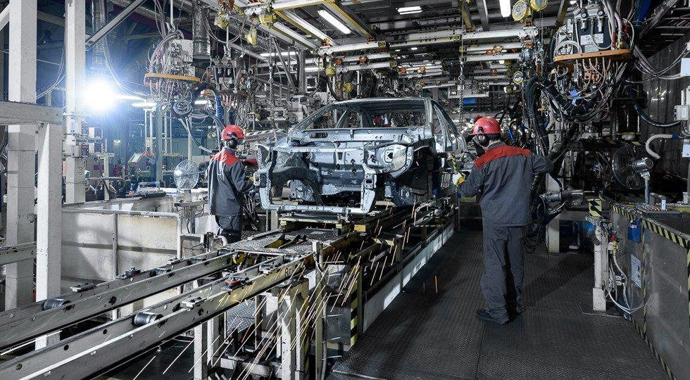 Производство авто вПетербурге за10 месяцев уменьшилось на9%