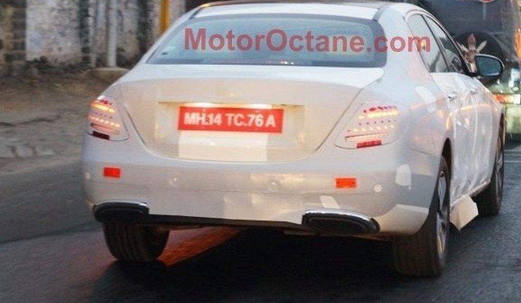 Предсерийный Мерседес-Бенс E-Class Coupe 2018 замечен наиспытаниях
