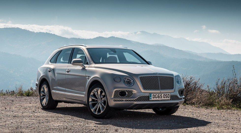 Названа ориентировочная цена дизельного кроссовера Bentley Bentayga