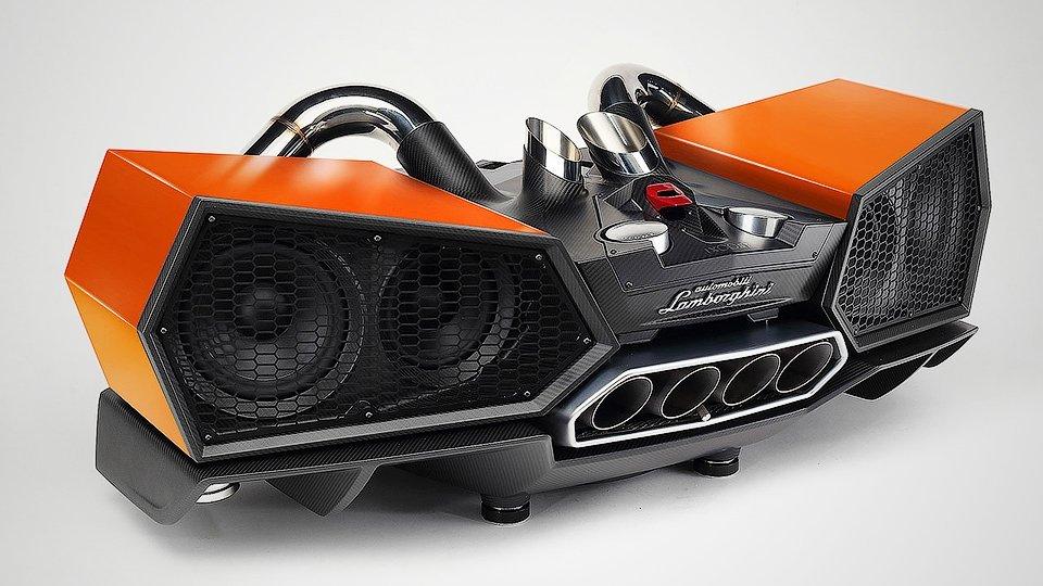 Компания Lamborghini превратила выпуск «Авентадора» встереосистему