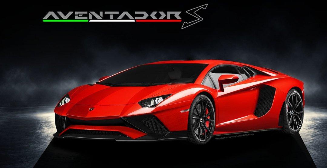 Размещены первые изображения улучшенного суперкара Lamborghini Aventador S