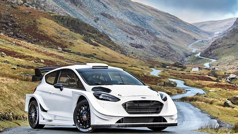 ВM-Sport презентовали Форд Fiesta WRC 2017 года