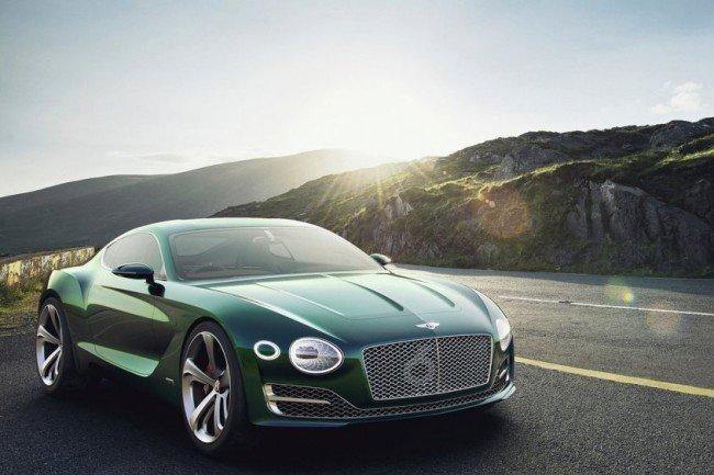 Компания Бентли создаст новое купе поконцепту EXP 10 Speed 6