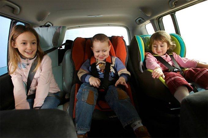 ВКурске инспекторы ГИБДД проверят правильность транспортировки детей вавтомобилях