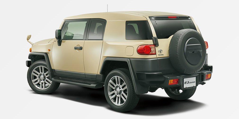 Toyota представила прощальную версию FJ Cruiser