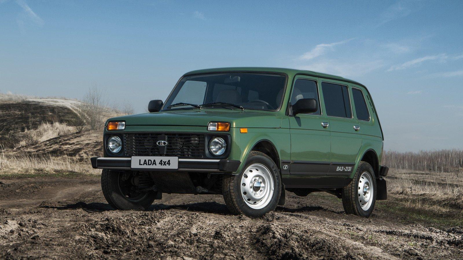 Вседорожный автомобиль Лада 4x4 2-ой месяц подряд стал лидером русского экспорта