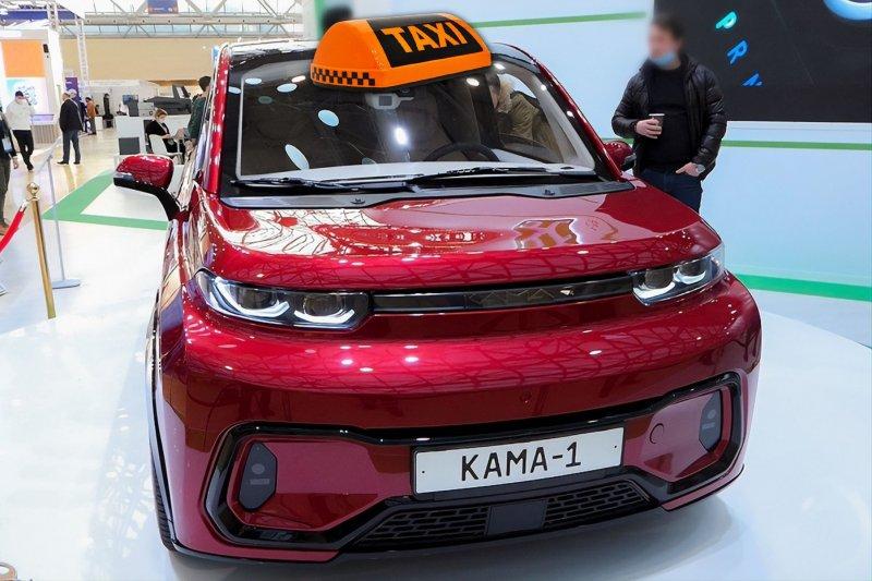 «КАМА-1» ввиде такси. Изображение: Driver-News