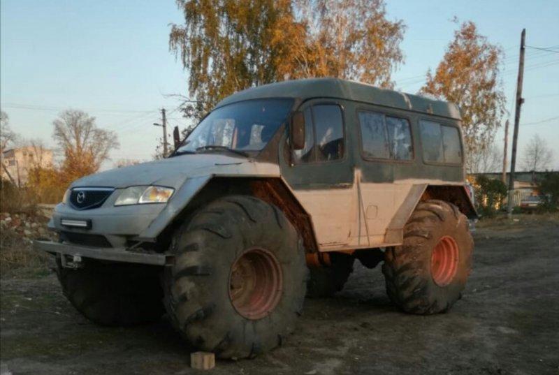 По факту вездеход, по документам — трактор. Фото: «Вездеходы, ВКонтакте»
