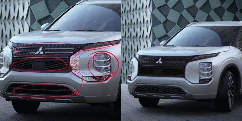 Проблемный иизменённый Mitsubishi Outlander 2021. Кадры: YouTube-канал TheSketchMonkey