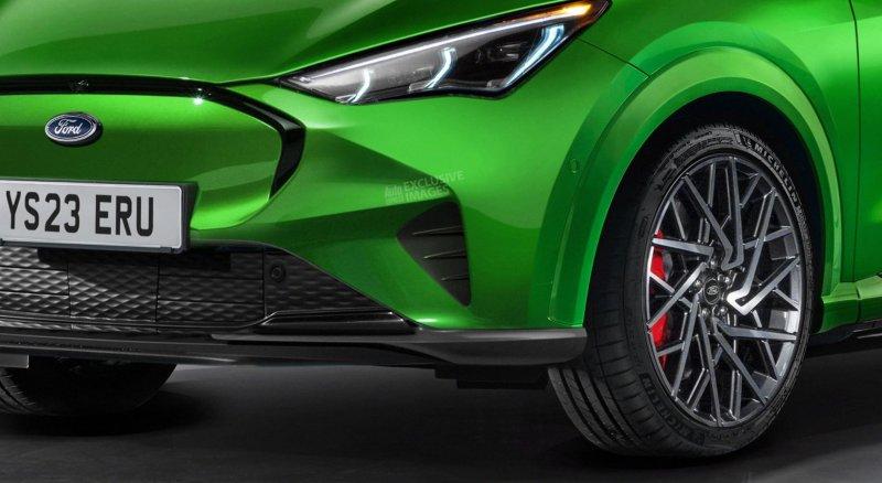 Ford Fiesta Mach-E. Концепт: Autoexpress