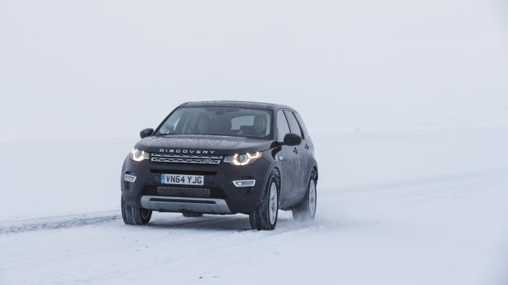от Land Rover Discovery 2015